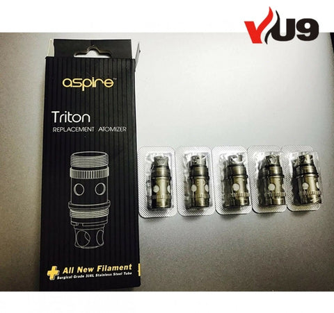 Aspire Triton Replacement Coils Pack of 5 - UK VAPE WORLD