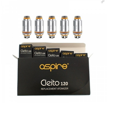 Aspire Cleito 120 Replacement Coil Heads, 0.16 ohm - UK VAPE WORLD