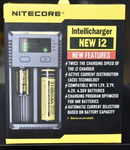 Nitecore I2 – Intelligent 18650 26650 AA AAA Authentic Vape Battery Charger - UK VAPE WORLD