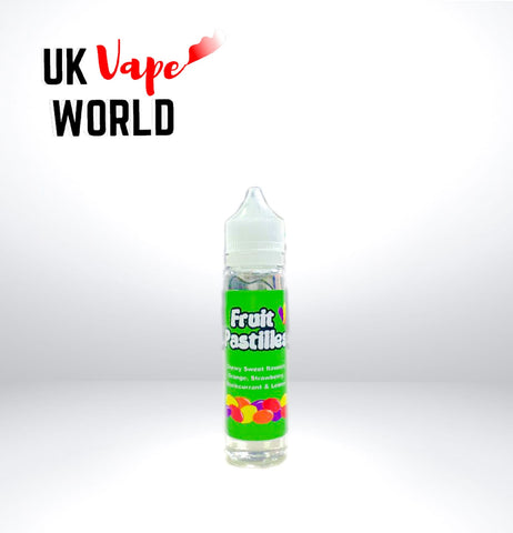 Vu9 Fruit Pastles 100ml Zero mg E-liquid 70/30 | UK Vape World
