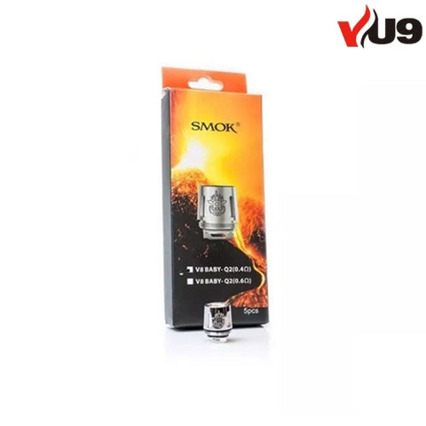 SMOK V8 Baby-Q2 Coils pack of 5 - UK VAPE WORLD