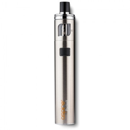 ASPIRE POCKEX ALL IN ONE STARTER KIT £18.99  - Stainless Steel | Vape Kits | UK Vape World