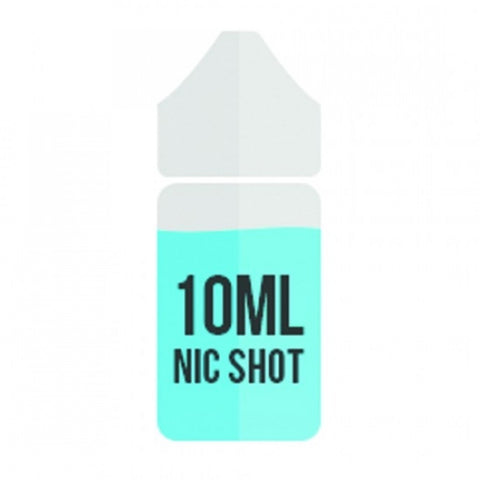 Nic Shot Nicotine Shots ,18mg 10ml Bottles,Flavourless ,Premium - UK VAPE WORLD