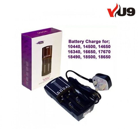 EFEST SODA BATTERY CHARGER UNIVERSAL 18650+ - UK VAPE WORLD