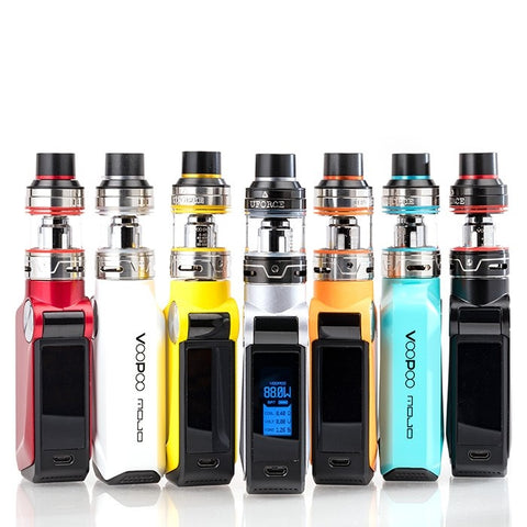 VOOPOO MOJO 88W & UFORCE TANK STARTER KIT - UK VAPE WORLD