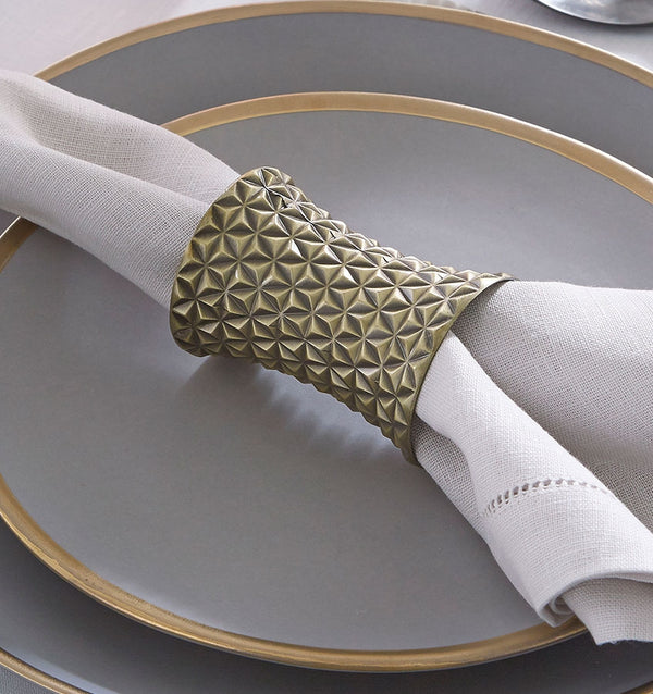 Facet Napkin Rings
