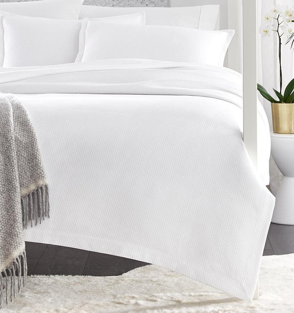SFERRA Perrio Coverlet in White