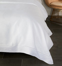 SFERRA's Classico bed linens reign supreme as the ultimate for a luxurious sleep experience.