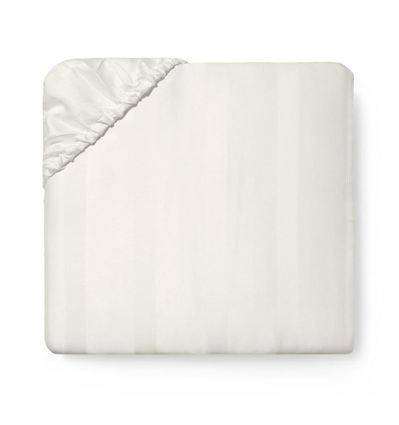 SFERRA Giza 45 Stripe Fitted Sheet