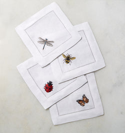 Insetti Cocktail Napkins