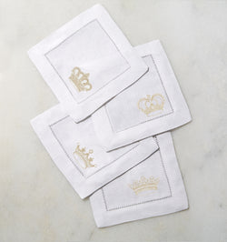 Royalty Cocktail Napkins