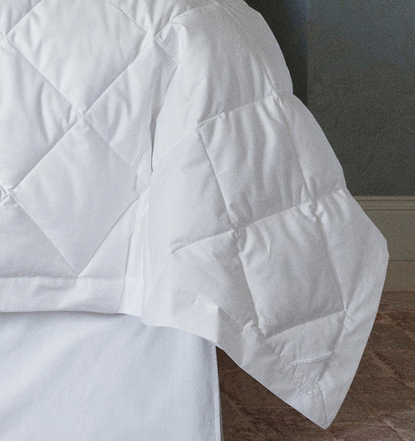 While Tilney functions as a down blanket, it can also serve as a an ultra-light duvet insert.