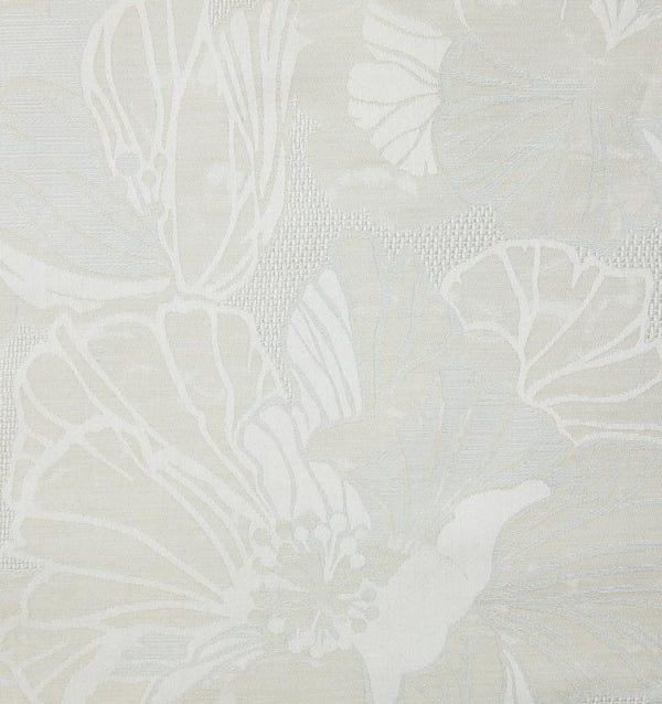 SFERRA Fiore fabric by the yard with a floral jacquard pattern.
