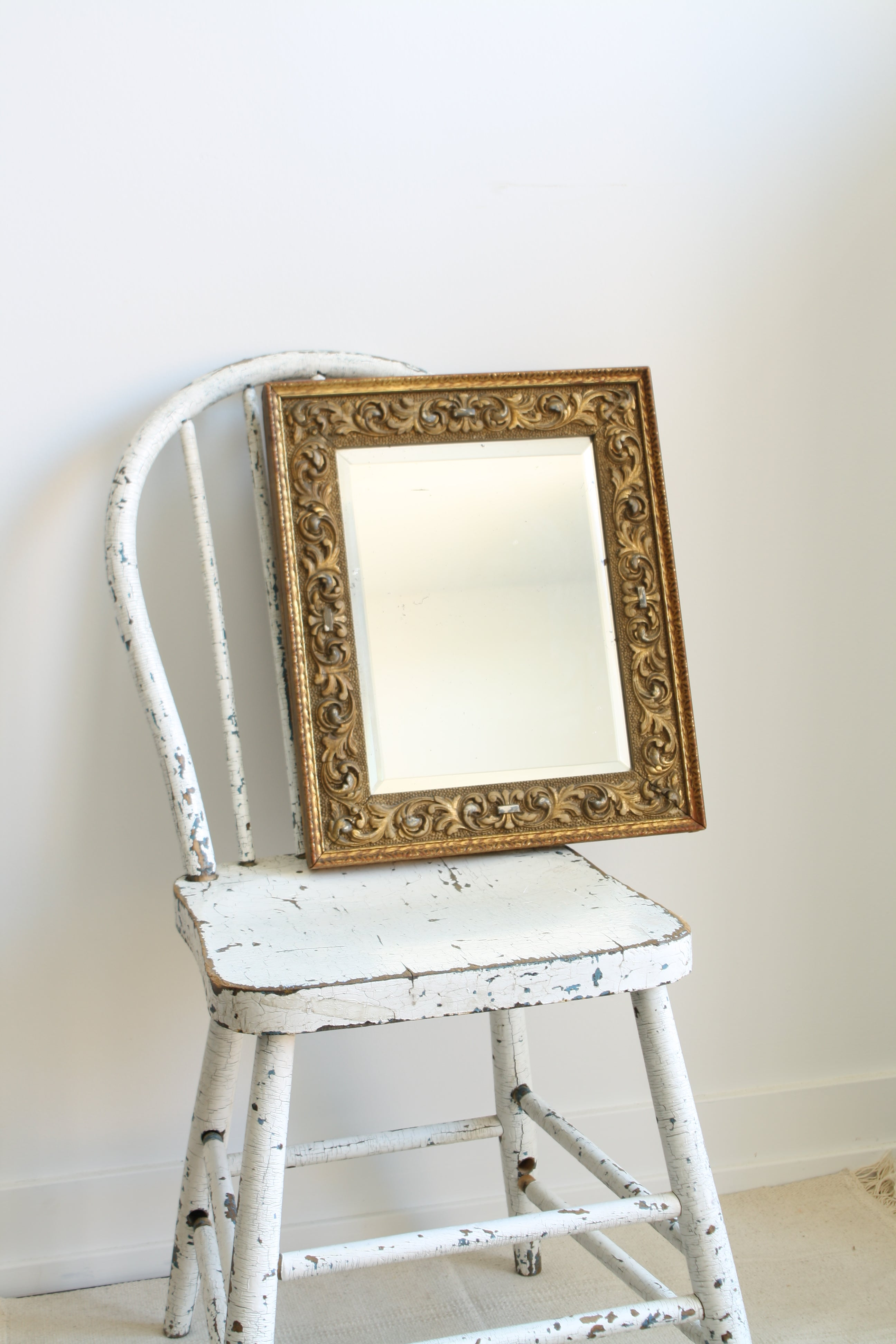 Shabby Antique Mirror