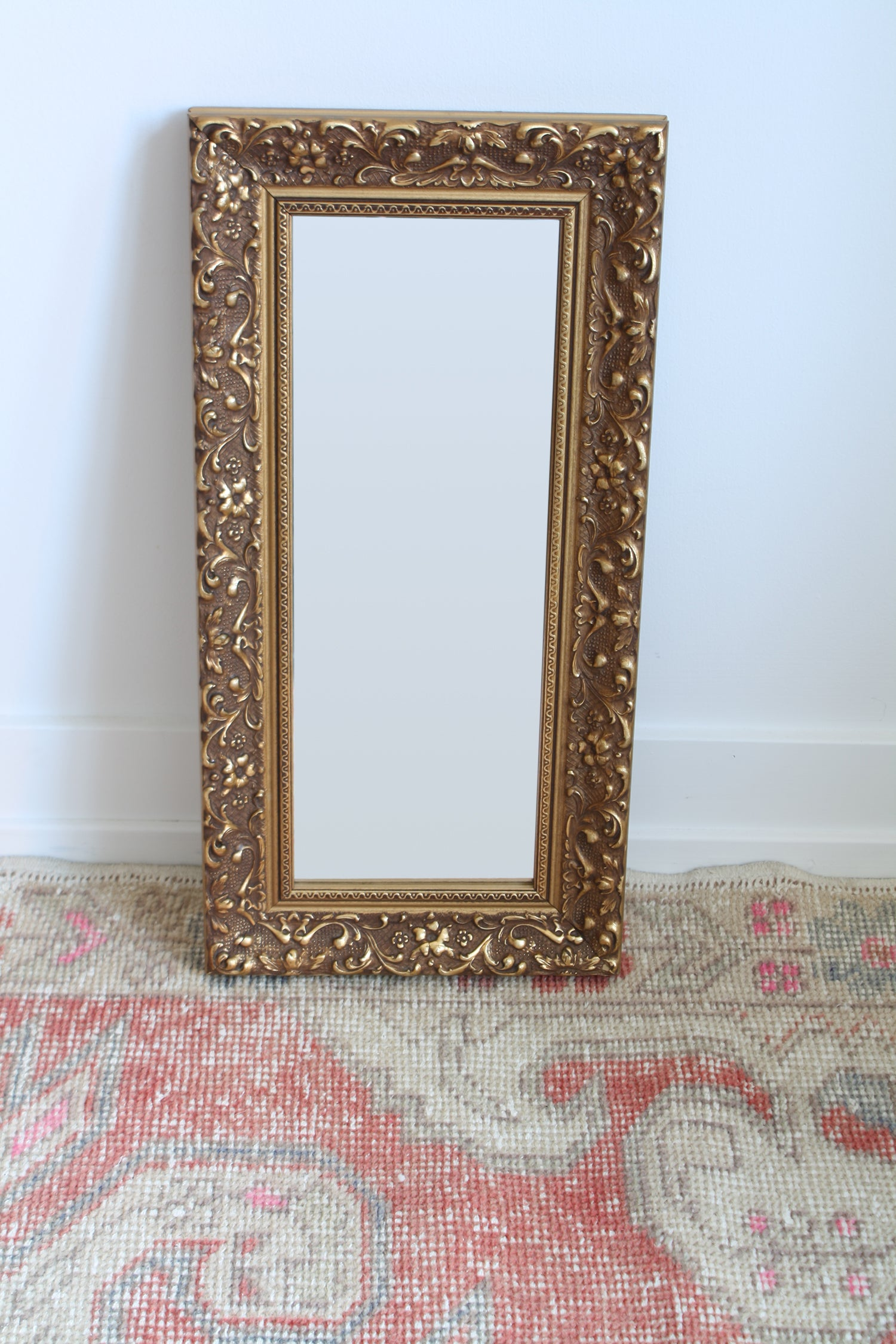 Small Rectangular Vintage Mirror