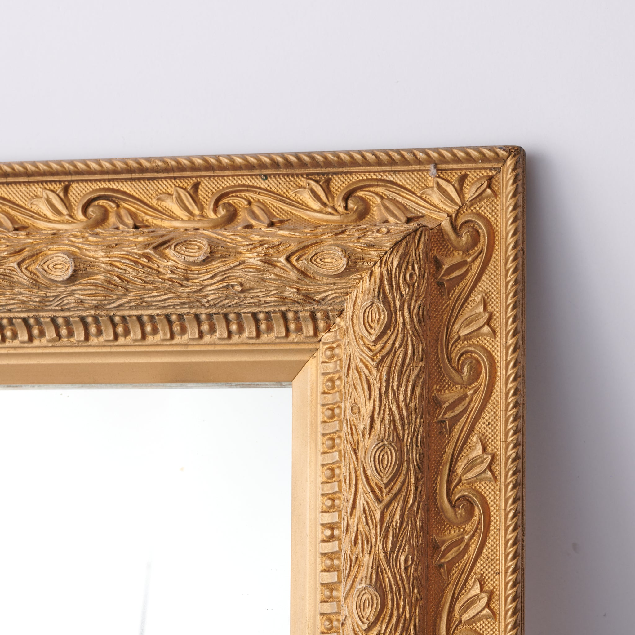 Vintage Gold Framed Mirror