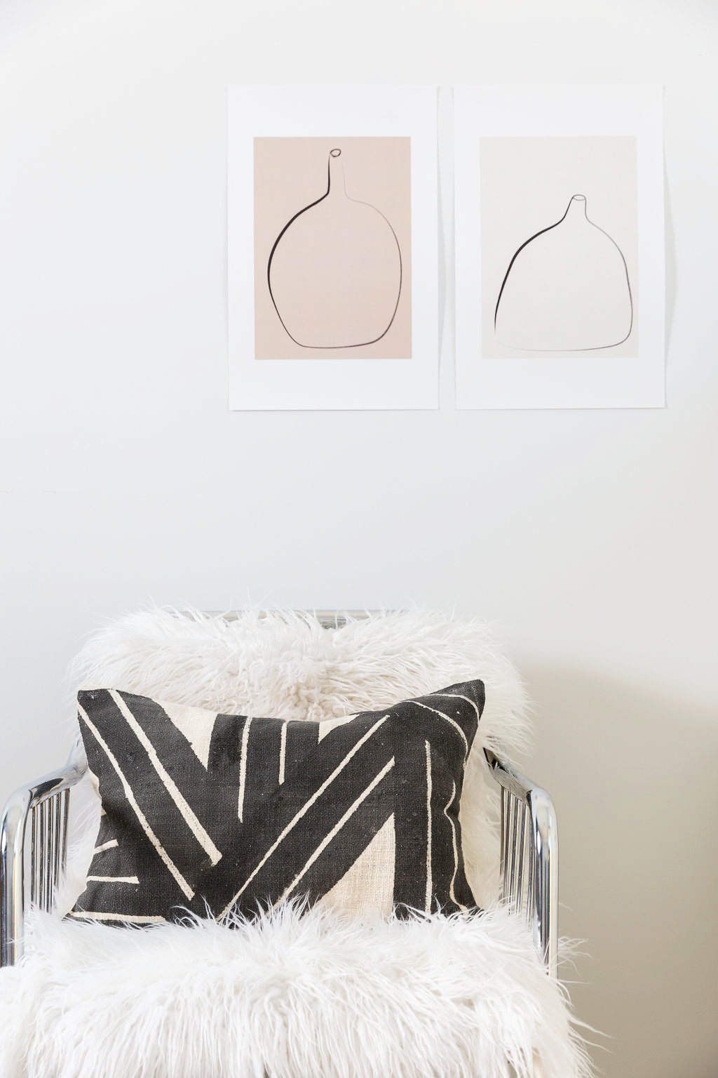 Stripe Sky Pillow