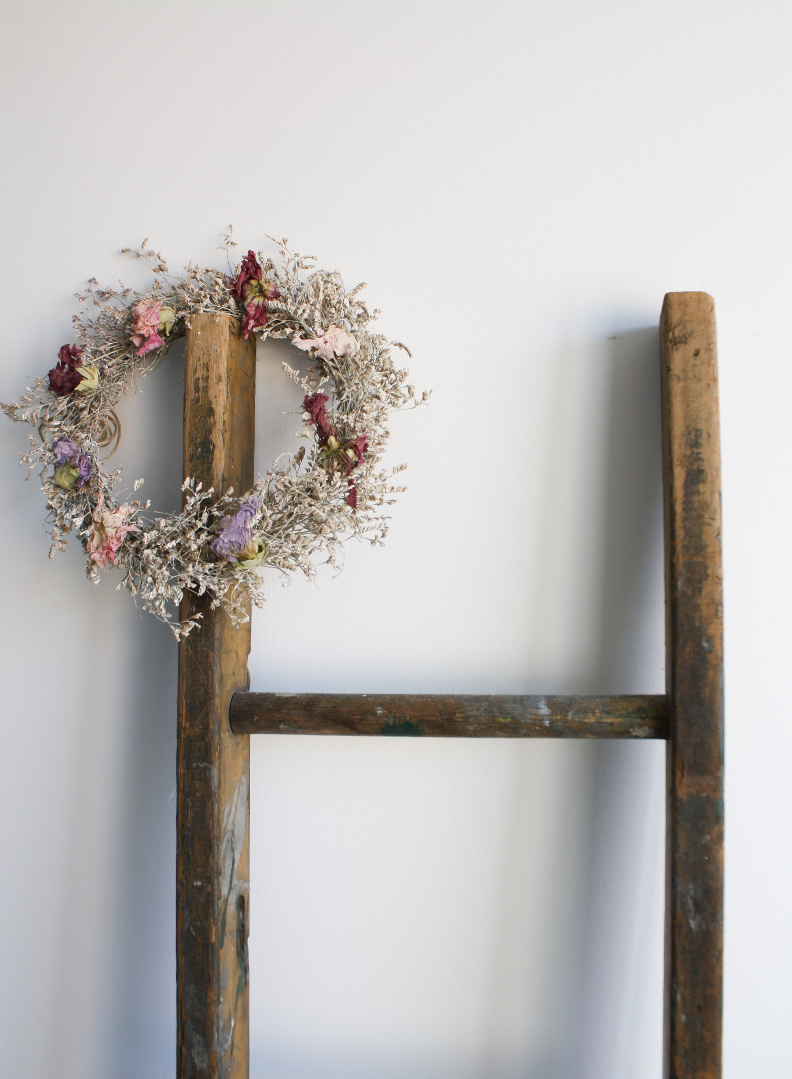Dried Floral Rustic Wreath