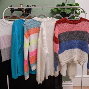 Quick Swap: Chunky colourful knitwear - Size S