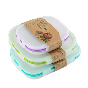 Foldable Silicone Food Container