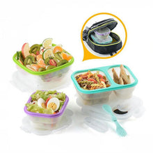 Load image into Gallery viewer, Foldable Silicone Food Container