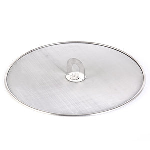 Stainless Steel Silver Splatter Screen Lid for Pan Frying