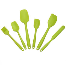 Load image into Gallery viewer, 6Pcs Silicone Baking Tool Set   Assorted Colors