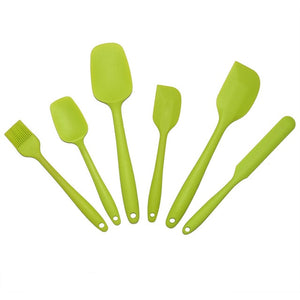 6Pcs Silicone Baking Tool Set   Assorted Colors