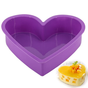 Big Heart Shape Cake Mold  Non-Stick  Bakeware