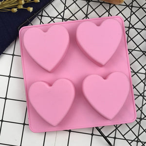 Mini heart cake mold