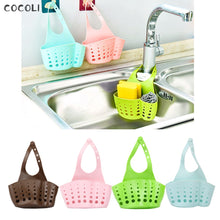 Load image into Gallery viewer, Baskets Portable Home Kitchen Hanging Drain Bag Basket Bath Tools Sink Holder popular useful Storage  shelving