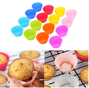 12pcs Colorful  Muffin or Cupcake Liner