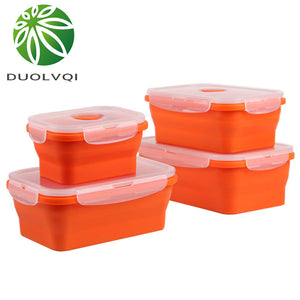 Colorful Folding Silicone Food Container