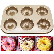 Load image into Gallery viewer, Muffin Pastry Mold Bakeware Shaped Cupcake Baking Pans Assorted Styles