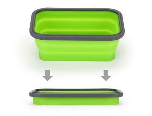 Folding Lunch Box  Portable Food Container