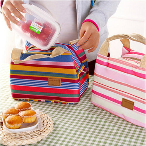 Lunch Box Lonchera Lunchbag Waterproof  canvas bag