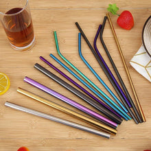 Load image into Gallery viewer, 5pcs  Reusable Straw Set