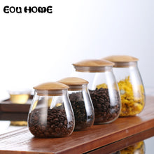 Load image into Gallery viewer, Mushroom Shape Glass Storage Jars