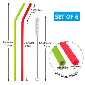 Food Grade Silicone Drinking Straws