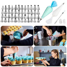 Load image into Gallery viewer, 64pcs Cake Decorating Kit