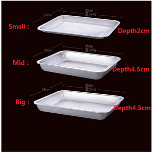 304 Stainless Steel Barbecue Dish Asssorted sizes/Depths