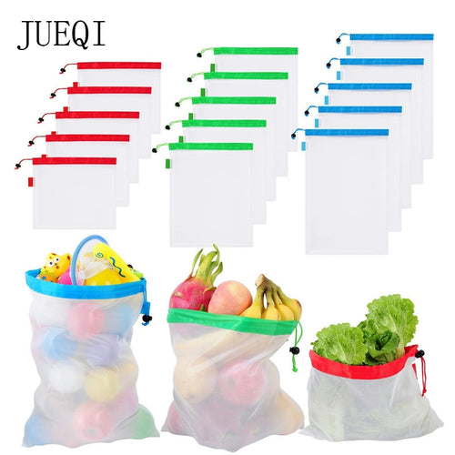 Reusable Mesh Shopping Bags