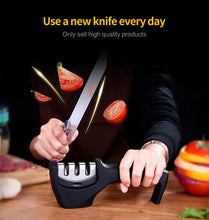 Load image into Gallery viewer, Stainless Steel Kitchen Knife Sharpening Tool