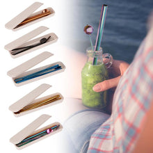 Load image into Gallery viewer, Eco-Friendly Drinking Straws
