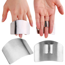 Load image into Gallery viewer, 1pc Stainless Steel Finger Protector