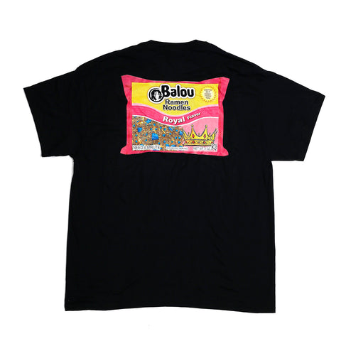 Ramen Noodles T Shirt Black