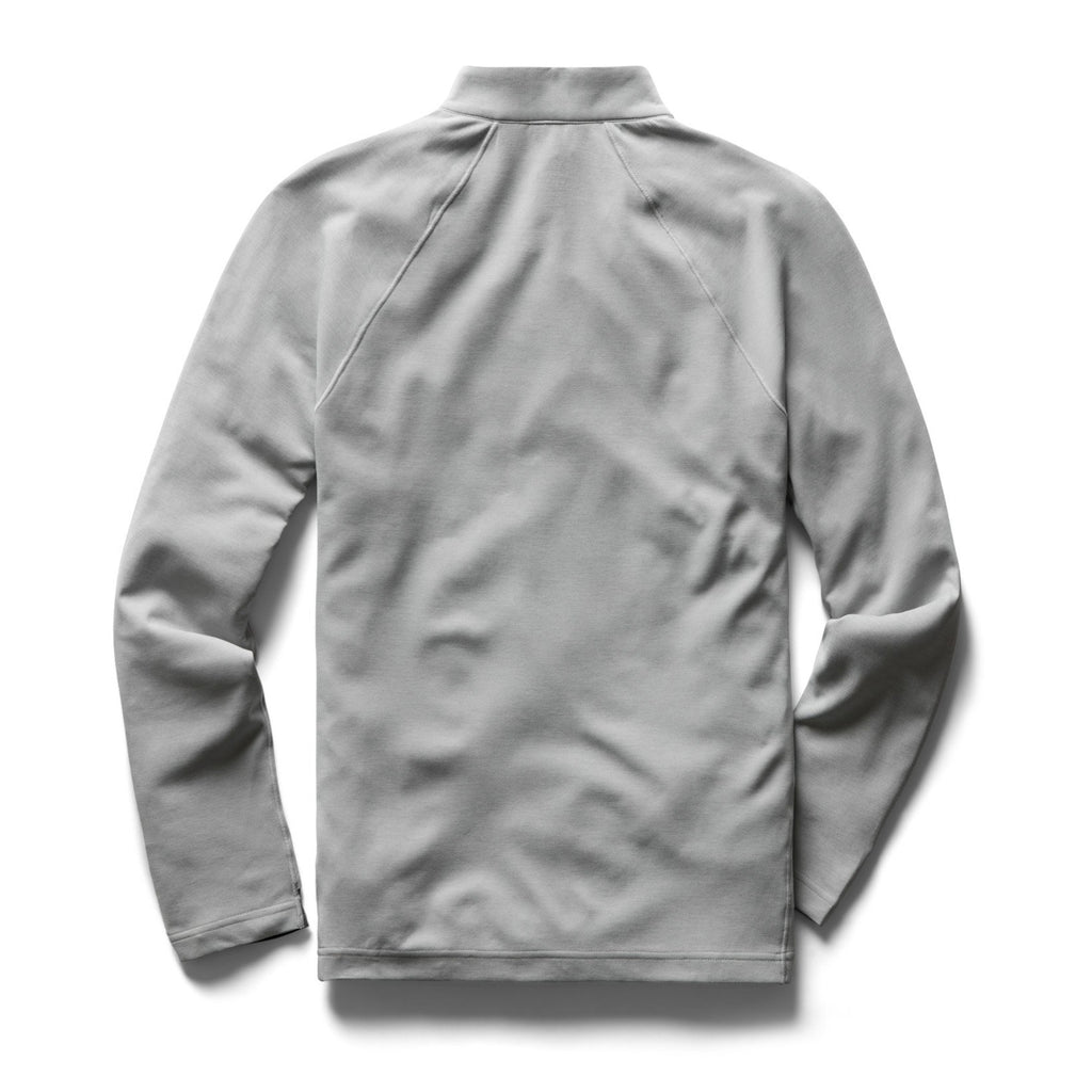Reigning Champ Trail Shirt Deltapeak - Heather Grey