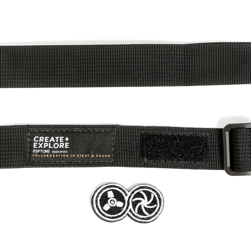 Standard Camera Sling Strap - Create & Explore Special Edition - Black