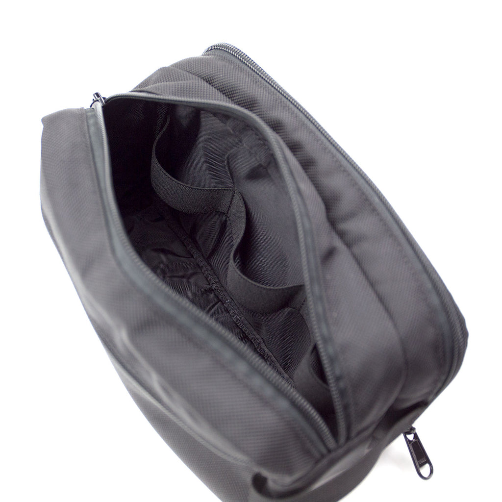 Dopp Kit - Black Ballistic Nylon Version 1.0