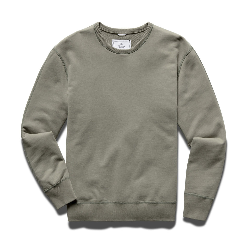 Reigning Champ Midweight Terry Crewneck - Sage